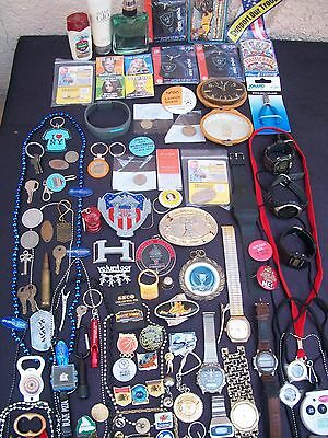 Huge Mens Jewelry & Trinket Lot Junk Drawer Collectables More