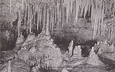 Postcard Laurie's Grotto Naracoorte South Australia 1&1/2d KGV stamp Mt Gambier