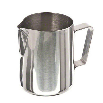 600/350ML Stainless Steel Espresso Coffee Pitcher Craft Latte Milk Frothing JugW