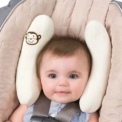 Infant Cradler Baby Toddler Head Support Kid Travel Neck Pillow Protection SN