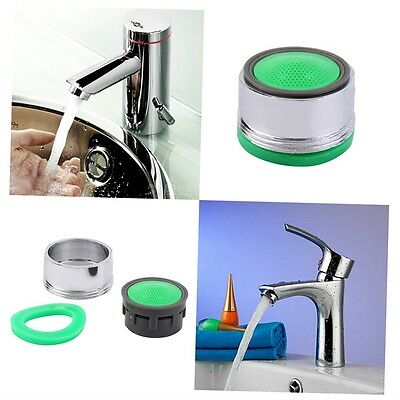 Faucet Tap Nozzle Thread Swivel Aerator Filter Sprayer Chrome plated WELS