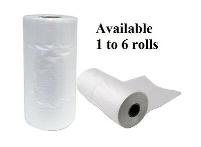 Produce Roll Heavy Duty Vegetable Food Plastic Freezer Bag 450 x 250 + 100mm NEW