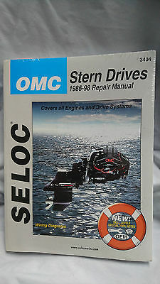 OMC Stern Drives 1986 to 1998 All Engines and Drive Systems Repair Manual
