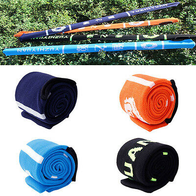 High Elastic Nylon Fishing Rod Sleeve Cover Pole Glove Protector Bag Gear Tackle