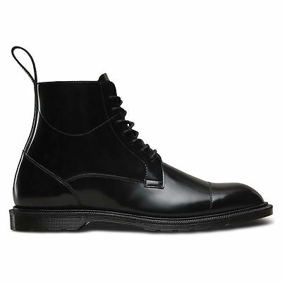 Dr.Martens Winchester 7 Eyelet Polished Smooth Black Mens Boots