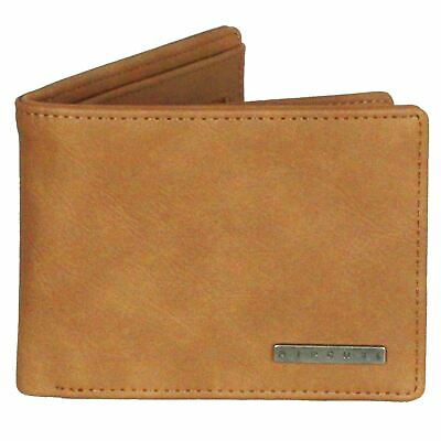 Brown One Size Rip Curl Rapture Boss Pu All Day Mens Wallet//purse Wallet