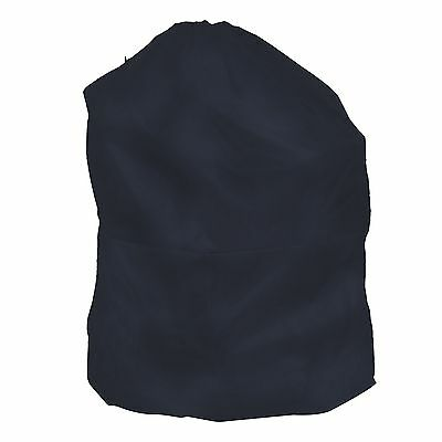 Heavy Duty Jumbo Sized Nylon Laundry Bag Dark Blue Great for College and Apts
