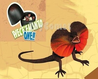 Frilled Lizard Reptile Animal Part II 4D 3D Puzzle Egg Model Kit Toy