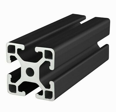 80/20 Inc 40mm x 40mm T-Slot Aluminum 40 Series 40-4040-Lite-Black x 915mm N