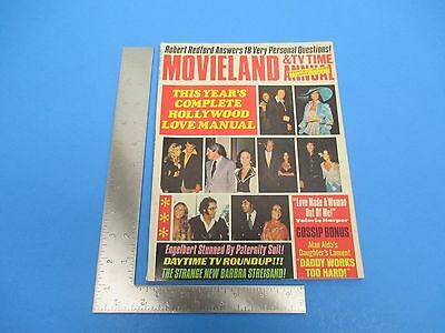 Vintage Spring 1975 Movieland &TV Time Annual 99 pgs. M497