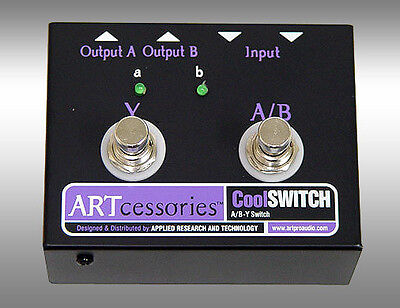 ART CoolSwitch A/B/Y Switch/Pedal For Guitar Amplifiers