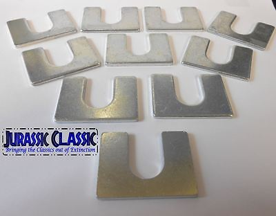"10pk 1946-1985 Mopar 1/8"" Universal Body Fender Shims Adjuster Alignment Square"