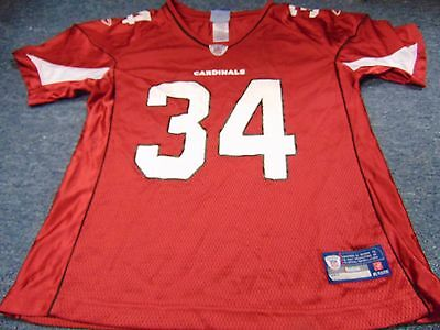 New Reebok Equipment Women s Nfl Arizona Cardinals Tim Hightower Jersey  Size L ec1f9bd5e