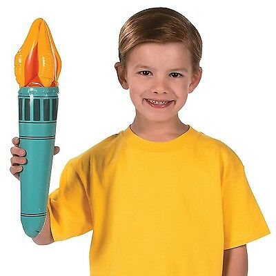 (1) 18 Inch Torch Inflatable Liberty Olympic Costume Prop