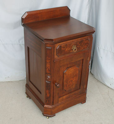 Antique Victorian Walnut Half Commode – Nite Night stand