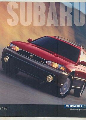1998 Subaru Forester Outback Legacy Impreza Brochure my6530