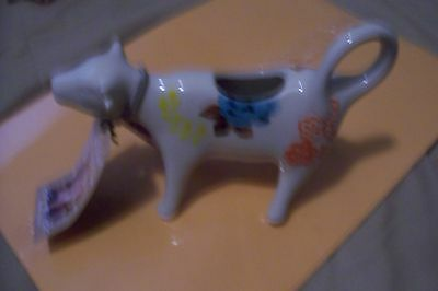 The Pioneer Woman Cow Creamer  with Flowers