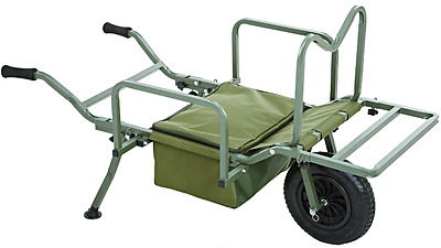 Trakker NEW X-Trail Galaxy Fishing Barrow *FREE Trakker Barrow Strap*