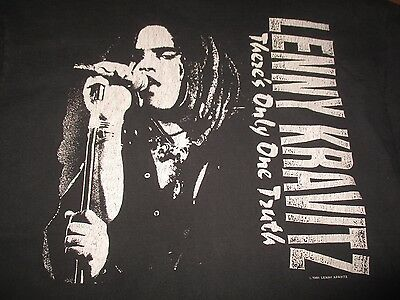"1991 LENNY KRAVITZ ""There's Only One Truth"""" Concert Tour (XL) T-Shirt"