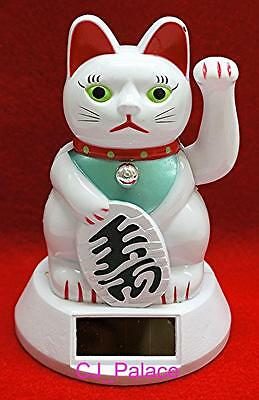 Nohohon Flip Flap Solar Powered Japanese Traditional Maneki Neko Lucky Cat