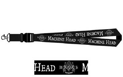 MACHINE HEAD logo LANYARD official licensed merchandise RARE no longer made