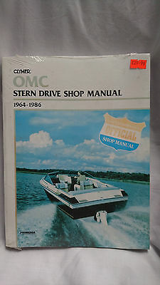 OMC Stern Drive Shop Manual 1964 to 1986