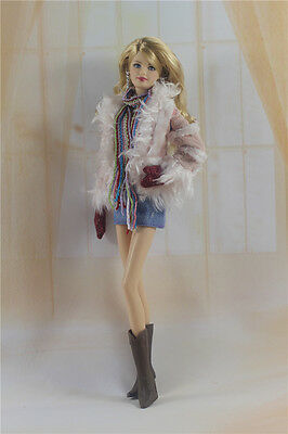 1 Set Fashion Handmade Clothes Outfit for Barbie Doll P12