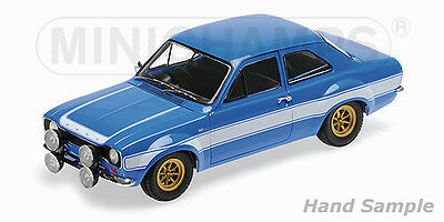 Minichamps 1:18 Ford Escort 1 RS 1600 FAV 1970 - blue with w
