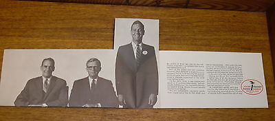 Vintage SAMPLE Insurance Brochure - Will The Real Independent Agent Please Stand