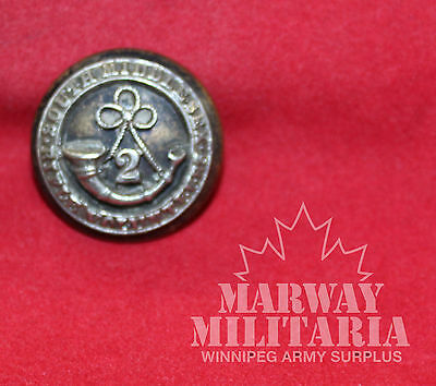 South Middlesex Rifle Volunteers, 2nd Battn, OFFICER'S Uniform BUTTON (inv 7750)