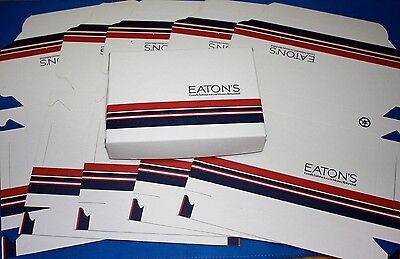 6 Vintage Eaton'S Advertising Boxes-Never Used