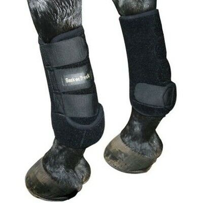 Back on Track Therapeutic Exercise Boots - Front or Hind - Black - Differ Sizes