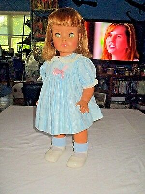 Vintage 1965 IDEAL Goody Two Shoes Walking Doll