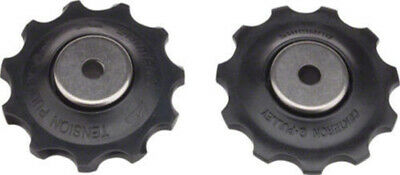 Shimano Rd-M663 10Sp Rear Derailleur Tension And Guide Pulley Set