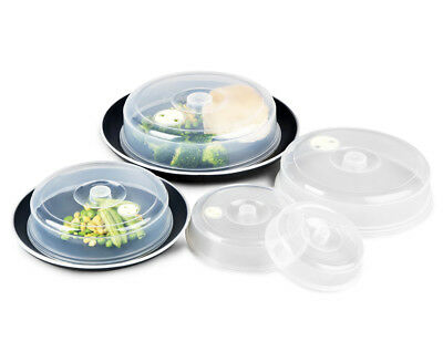 Set of 5 Microwave Covers - Transparent