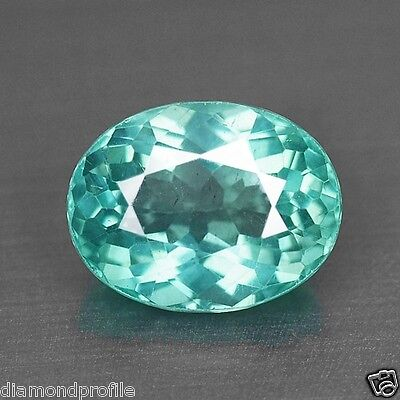 1.52 Cts TOP QUALITY RARE NEON GREEN COLOR NATURAL APATITE LOOSE GEMSTONES- VS