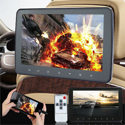 "10.1"" HD 1080P LCD Digitl Screen Car Headrest Monitor MP5 TV Video Player Game"