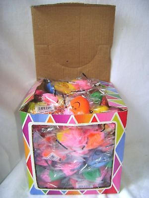 New Box 84 Stress Relief Moody Squeeze Faces Latex Rubber Office Desk Toys Hb