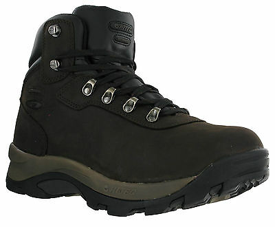 Hi-Tec Altitude IV Wide Waterproof Leather Hiking Trail Walking Mens Boots
