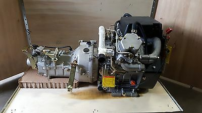 Diesel Engine  V Twin Brand New Air Cooled With 4 Speed Transmission  New