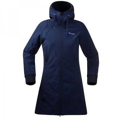 Bergans Vika Lady Coat Damen Softshell Mantel Navy