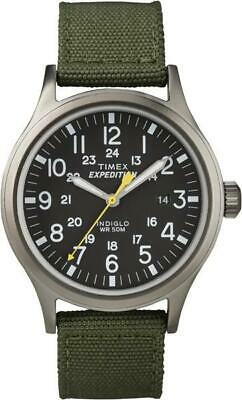 Timex mens T49961 expedition Scout Green watch