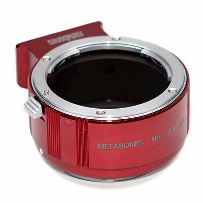 Metabones Nikon F Lens to Sony NEX Adapter II, Red