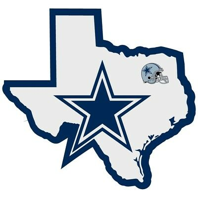 Dallas Cowboys NFL Football Home State Texas Auto Car Sticker Window Decal