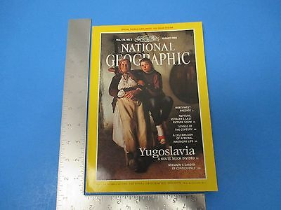 National Geographic Magazine August 1990 Vol.178 #2 Yugoslavia