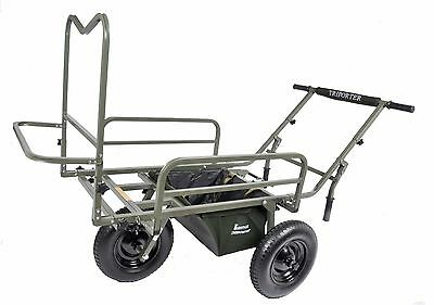 Prestige Carp Porter NEW MK2 Deluxe Triporter Fishing Barrow + FREE Middle Bag