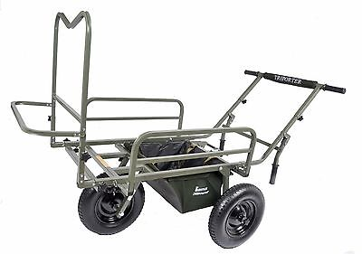 Prestige MK2 Deluxe Triporter Barrow Carp Porter + FREE Drop In Middle Bag