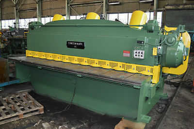 "12' x 3/8"" CINCINNATI-INC ""2512"" MECHANICAL POWER SQUARING SHEAR - #27460"