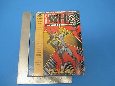 Vintage WHO`S Who Magazine #6 In The DC Universe  M616
