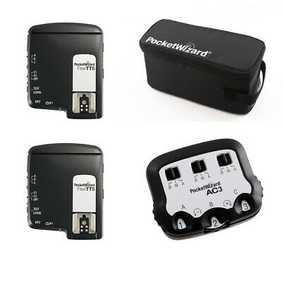 PocketWizard TTL Wireless Radio System for Canon Camera, Includes 2x Flex TT5 Tr